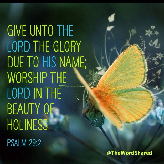 Psalm 29:2