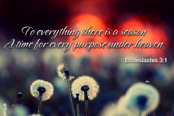 Ecclesiastes 3:1