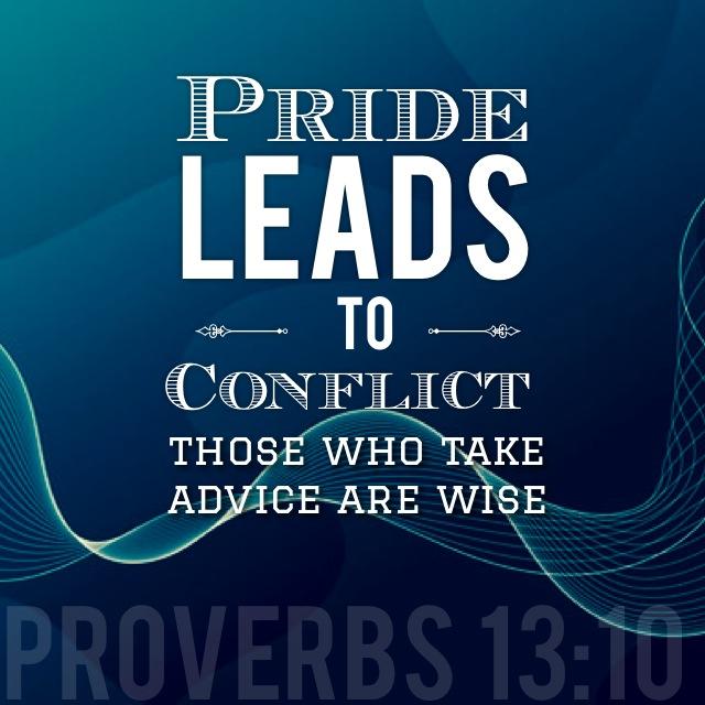 Proverbs 13-10