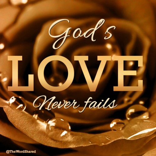 Gods-Love-Never Fails
