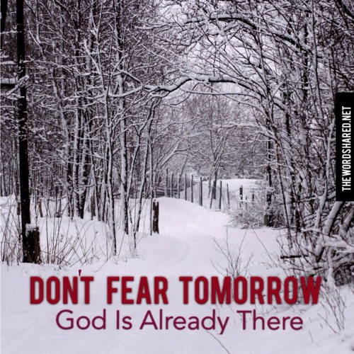 Don't Fear Tomorrow