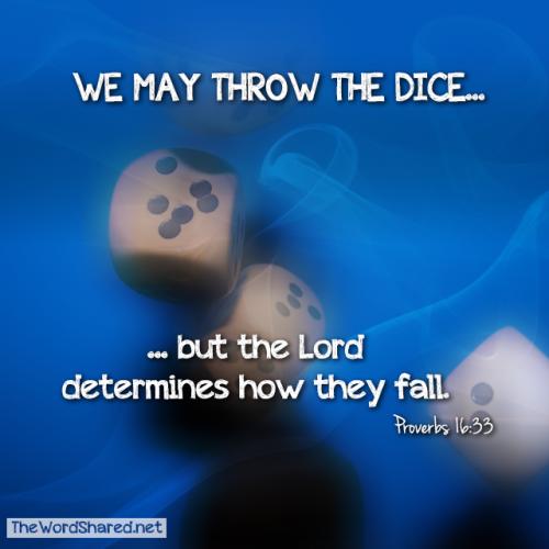 Proverbs 16:33