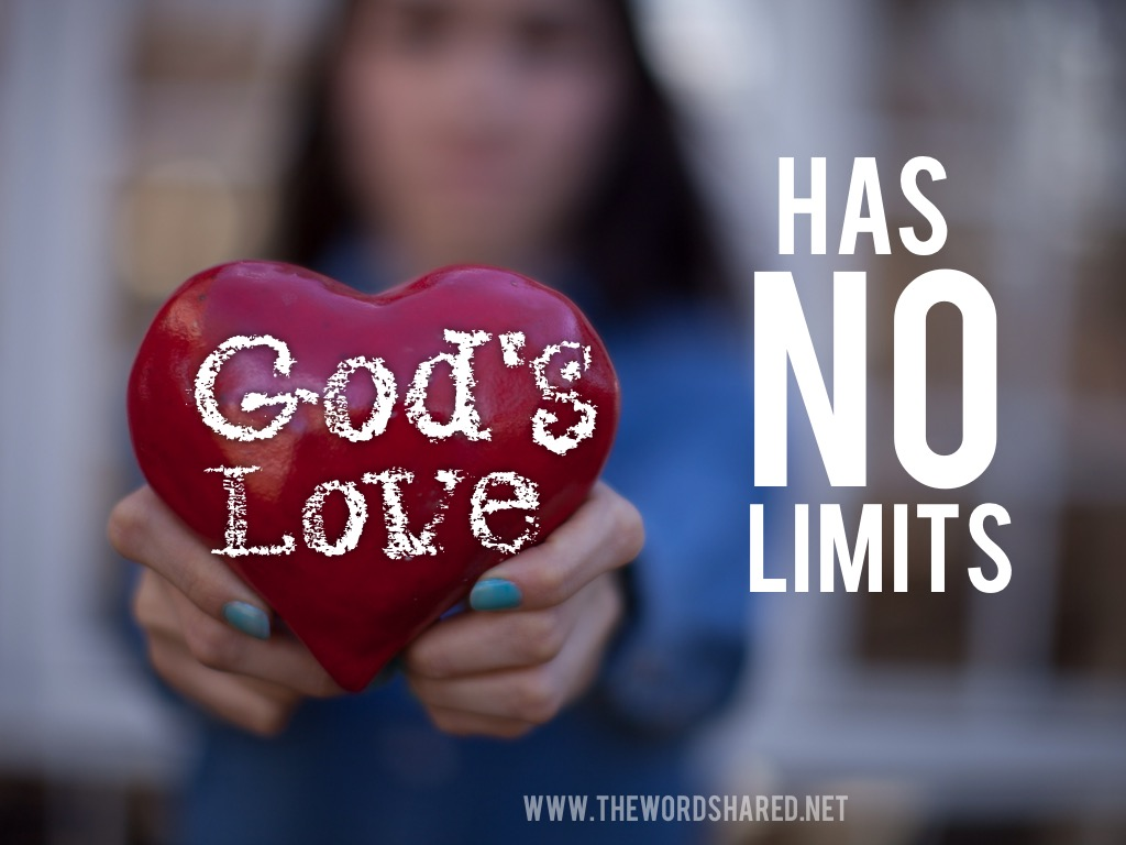 God's Love has no limits