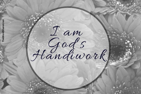 I Am His Handiwork Ephesians 2_10