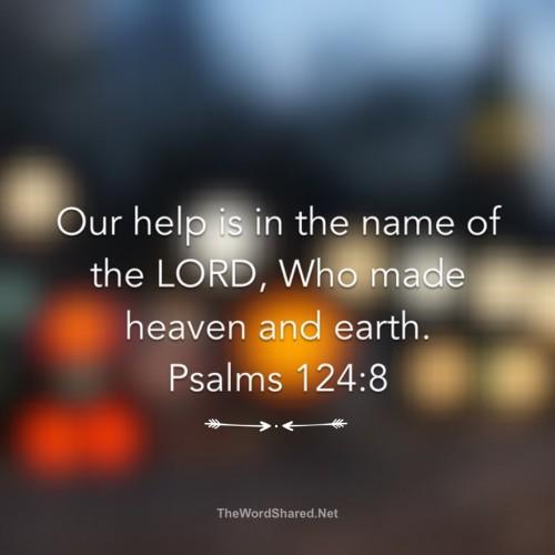 Psalm 124-8