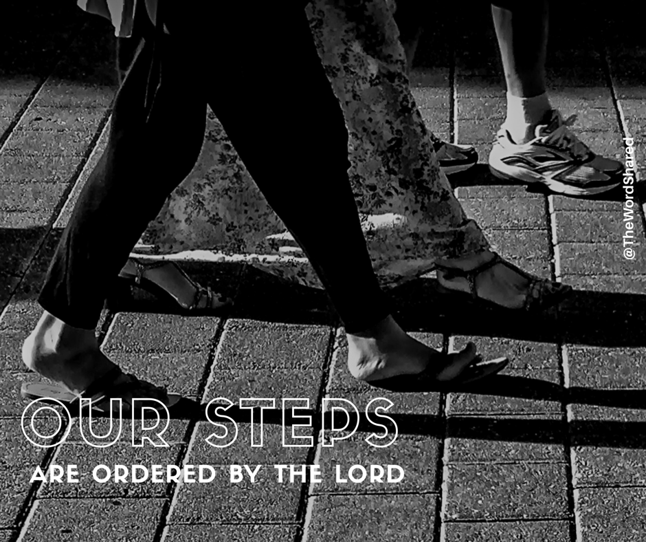 Our Steps are Ordered By the Lord