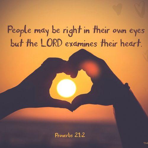Proverbs 21:2