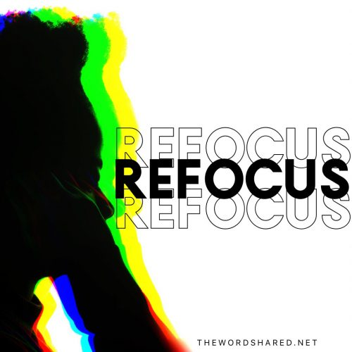 Refocus--stop looking at problems and start looking at opportunities