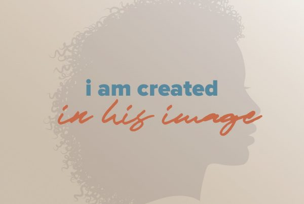 I am created in his image