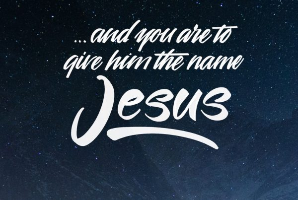 Give Him The Name Jesus.