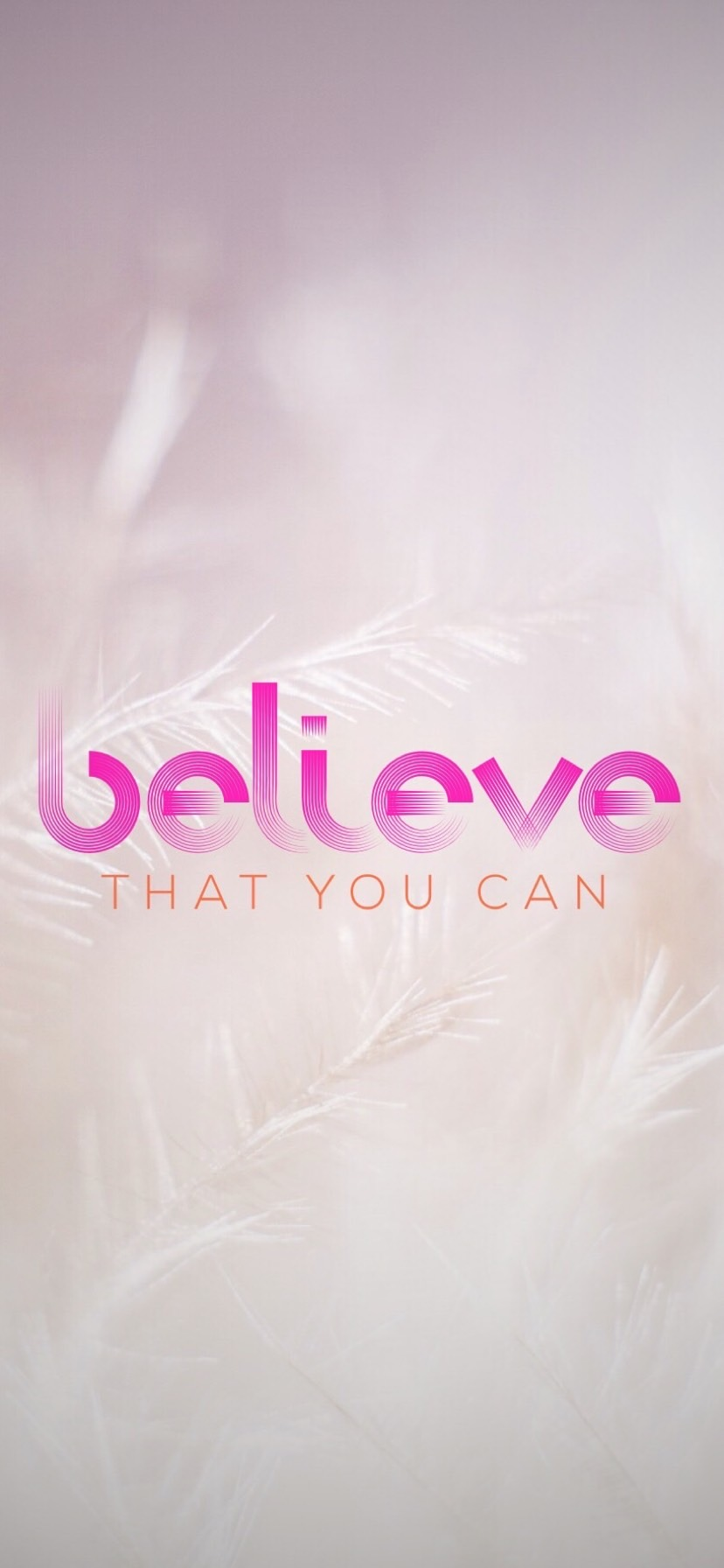 Wallpaper - Believe that you can