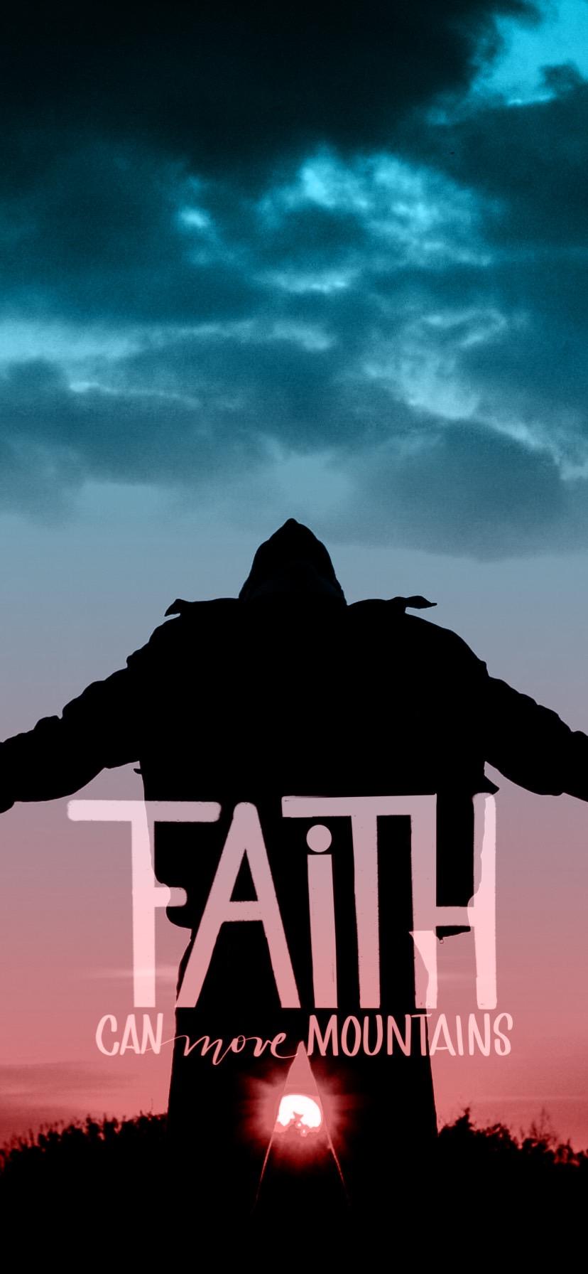 Wallpaper- Faith Can Move Mountains