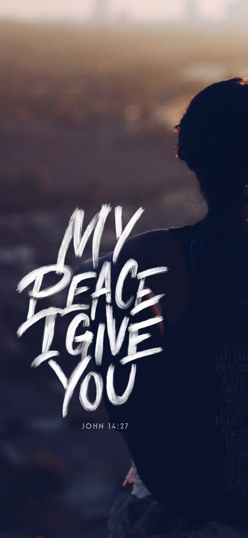 WallPaper -My Peace I Give you