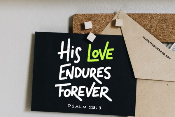 This love endures forever