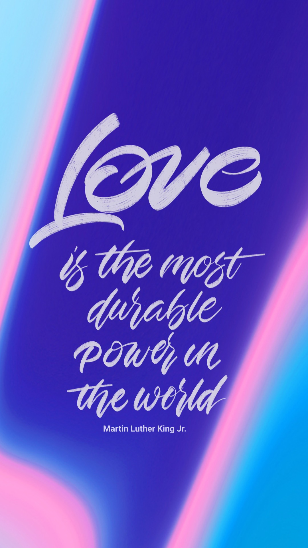 Love is the most durable power