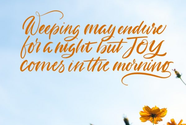 Weeping May Endure for A Night- Psalms 30:5